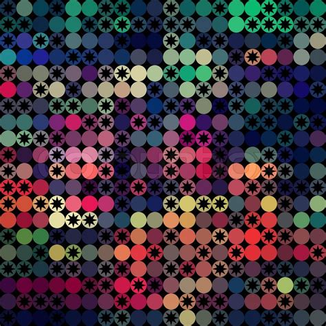 repeat pattern web background vector background of repeating geometric stars geometric