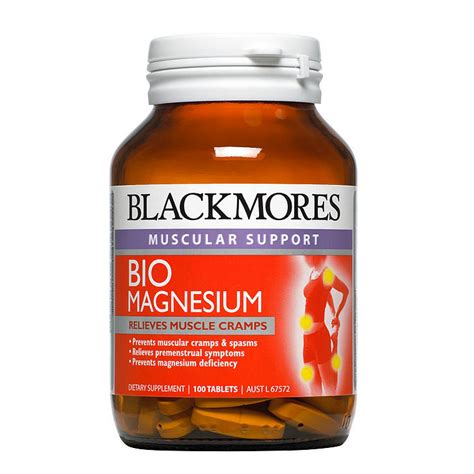 Promo Blackmores Total Calcium Magnesium D3 200 Tablet Glucosamine facts on magnesium to help with stress popsugar fitness