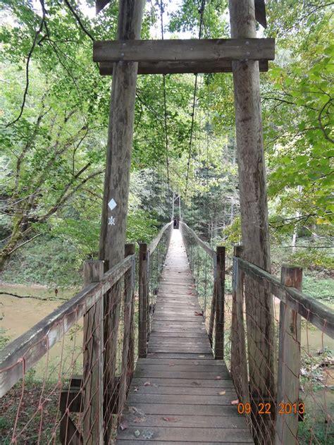 swinging bridge cground ny swinging suspension bridge over the red river natural