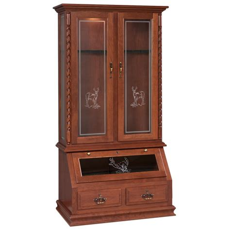Gun Cabinets by 8 Gun Cabinet Amish Crafted Furniture