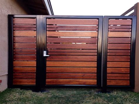 modern wood fence 25 best ideas about wooden gate designs on