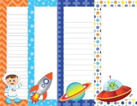 lined paper with alien border alien border writing paper