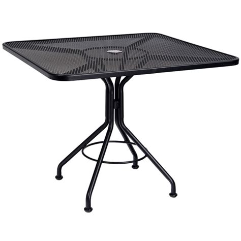 Umbrella For Bistro Table Woodard 36 Quot Square Contract Plus Bistro Umbrella Table 280029