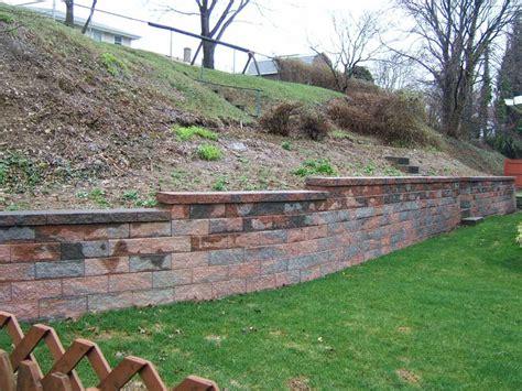 retaining wall in backyard backyard landscaping retaining wall outdoor furniture