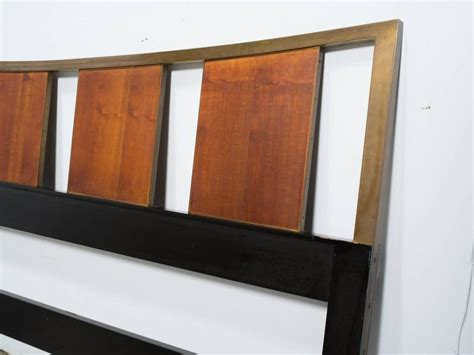 brass headboards for sale probber walnut and brass king size headboard for sale at