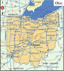 Maps Ohio by Pin Ohio Printable State Map 2 On Pinterest