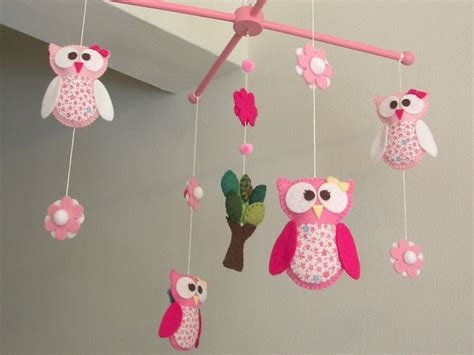 Owl Baby Mobiles Crib by Baby Crib Mobile Owl Mobile Mobile Quot 1st Owl Pink Quot