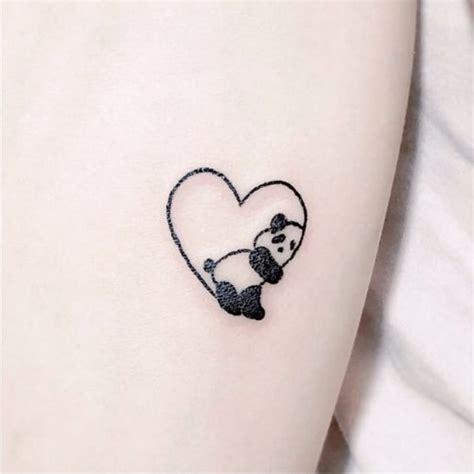 tattoo panda dessin 1001 id 233 es pour un petit tatouage minimaliste et