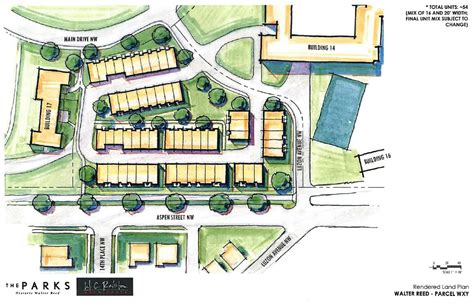 next phase in walter reed development 54 townhouse plan