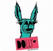 VINYL DECAL  Dolly The Llama