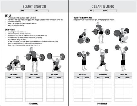 printable crossfit journal the 25 best ideas about workout log book on pinterest