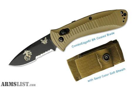 marine issued knife armslist for sale usmc issue benchmade bksn5000 folding