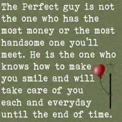 Not the one who has the money or the most handsome one you ll meet he