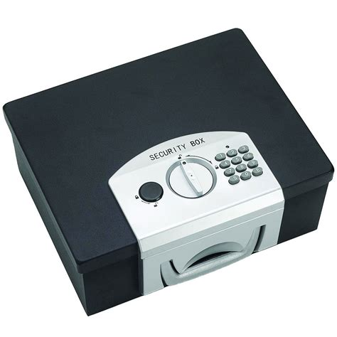 locking security box in home safes