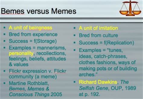 Genes Memes - on genes memes bemes and conscious things kurzweilai