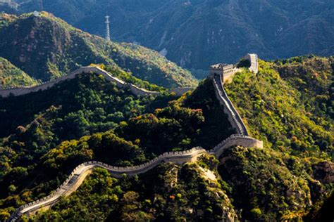 beautiful places   world   great wall