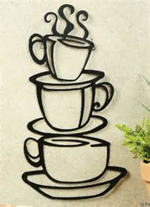 coffee themed home decor coffee themed kitchen decor details about metal hanging stacked coffee cup kitchen wall decor