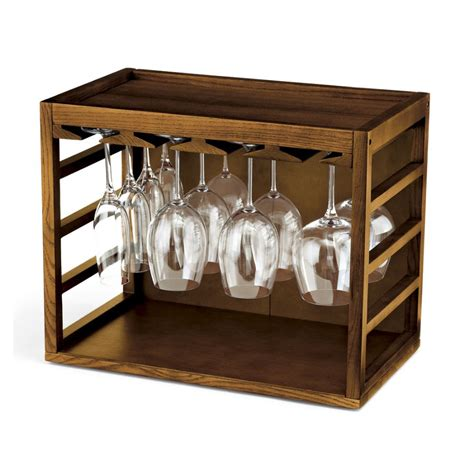 Wineglass Racks by Cube Stack Wine Glass Rack