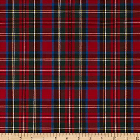 house of fabric kaufman house of wales plaid multi discount designer fabric fabric com