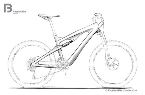 bike frame template mountain bike sketch www pixshark images galleries