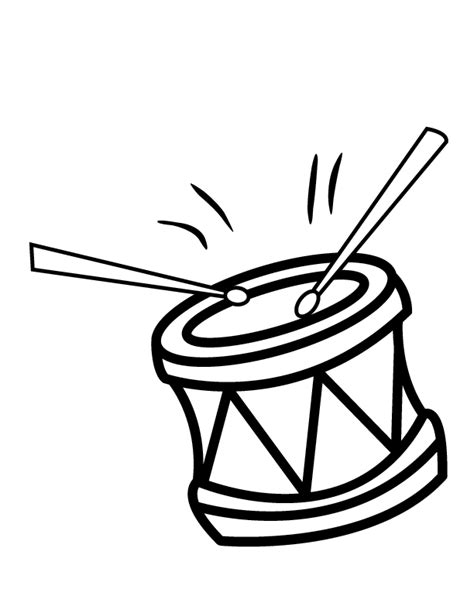 african drums coloring pages