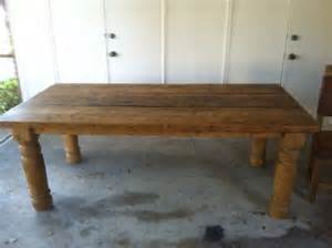 rustic wood dining room table texas university park in