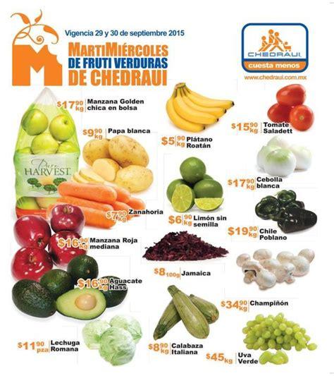 chedraui martes y miercoles de frutas y verduras 13 y 14 de enero chedraui martes y mi 233 rcoles de frutas y verduras 29 y 30