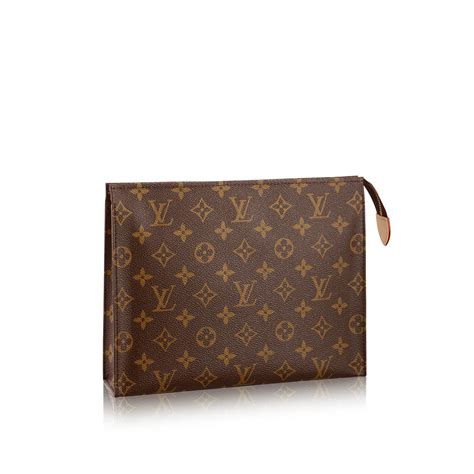 Clucth Lv toiletry pouch 26 monogram canvas travel louis vuitton