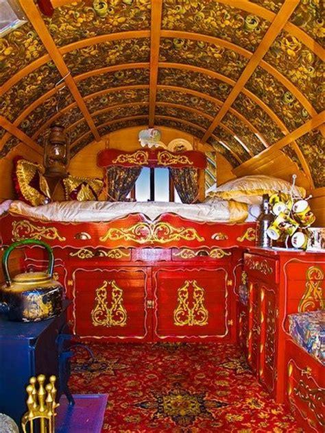 Vardo Interior by Vardo Wagon Interior Dreams