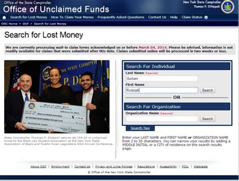 Website Find Exclusive by Exclusive Money For Blaz Among Unclaimed 12b Held By