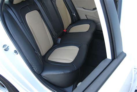 kia forte seat covers 2011 kia optima 2011 2012 leather like custom fit seat cover ebay