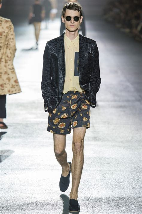 menswear collection summer eclecticism in dries noten 2019