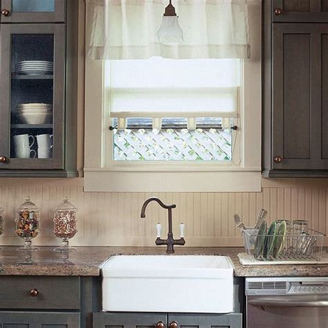 beadboard backsplash trim along the counter can extend into the eating area and become chair