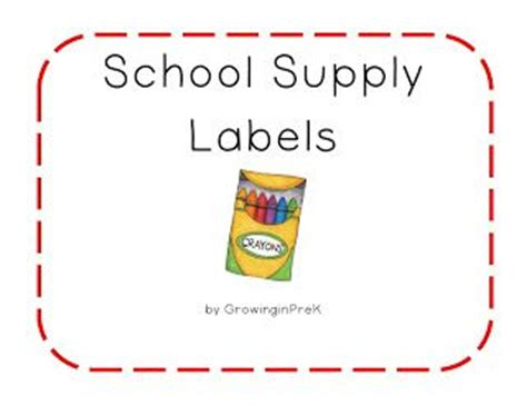 printable art supply labels 1000 images about organization on pinterest behavior