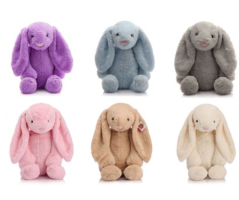 munchkin rabbit cut plush soft toys purple