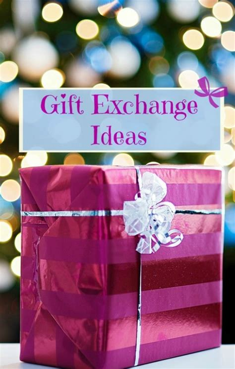 christmas gift exchange for large groups 75 gift exchange ideas