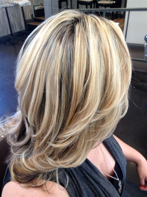 high lights and low lights for womans hair medium hairstyles with highlights and lowlights