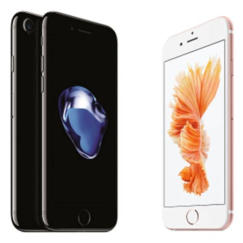 apple iphone 7 vs iphone 6s vs iphone 6 three way specs comparison phonearena