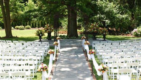 Outdoor Wedding Venues & Garden Wedding Locations