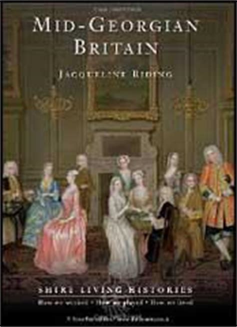 of georgian britain books 18th century history books