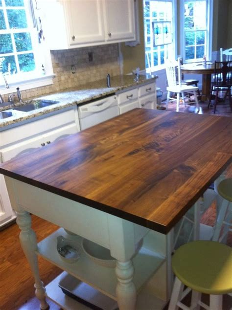 Wood Countertops Pros And Cons by Butcher Block Kitchen Island Pros And Cons Woodworking