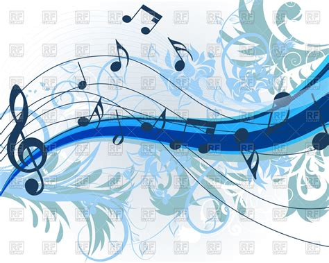 theme music royalty free music theme background 89453 download royalty free vector