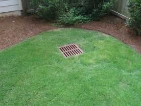 backyard drainage into catch basin 187 backyard and yard