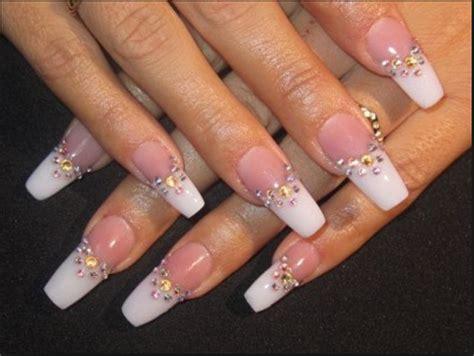 imagenes de uñas acrilicas con tip cristal dise 241 os de u 241 as acrilicas decoradas im 225 genes de