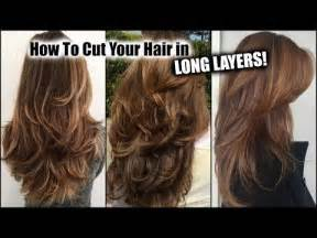 how to cut a cut hair style 25 best ideas about haircut in layers on pinterest fall