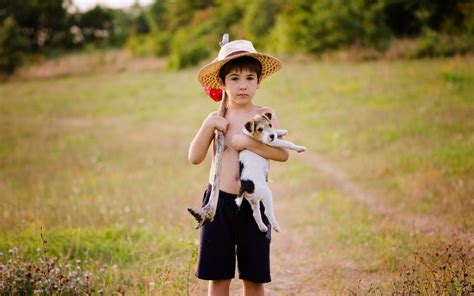 wallpaper girl and boy download cute baby boy with dog hd wallpapers pictures of puppy and