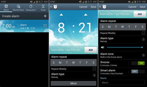 how to set alarm on android how to set an alarm on your android phone beginners guide droid