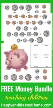 free counting money worksheets
