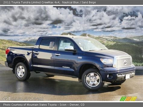 2011 toyota tundra limited nautical blue 2011 toyota tundra limited crewmax 4x4