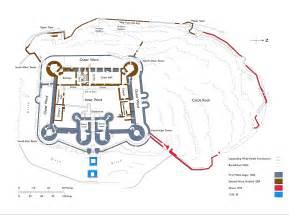 harlech castle floor plan file harlech castle plan jpg wikipedia the free